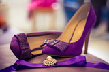 Bridal shoes and accessory