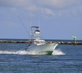 Charter Game Fishing Boat