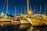 boats in Alghero seaport