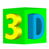 three-dimensional image in 3d